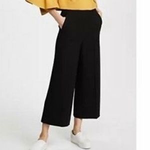 NWT Tibi Black Wide Leg Culottes Pants C11